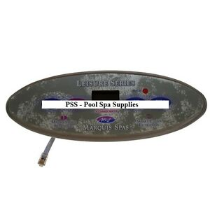 Marquis Spas - Topside Panel, Leisure Series - 650-0635 (Overlay 650-0490)