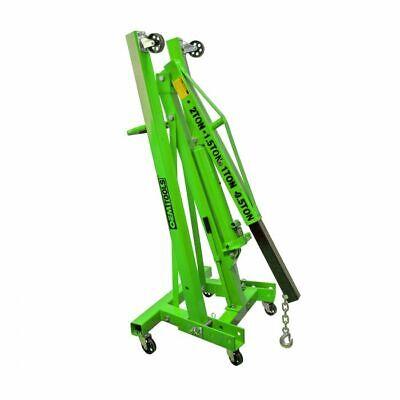 Oem Tools Folding Engine Shop Crane 2 Ton Capacity 4-position Boom 24830