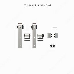 Brand New Rustic Barn Door Sliding Barn Door Hardware Soft Close Oakville / Halton Region Toronto (GTA) image 3