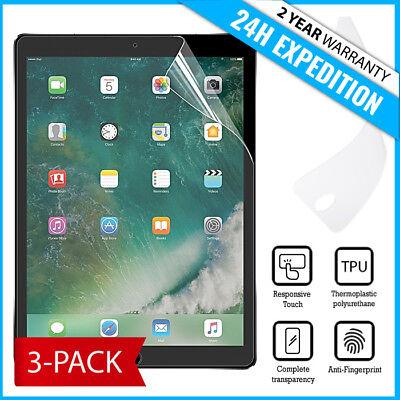 "3-Pack Screen Protector PET Protecteur Foil Soft TPU Film For iPad Pro 10.5"""