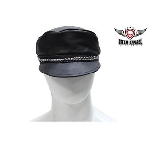 Chain Cap with Adjustable Strap