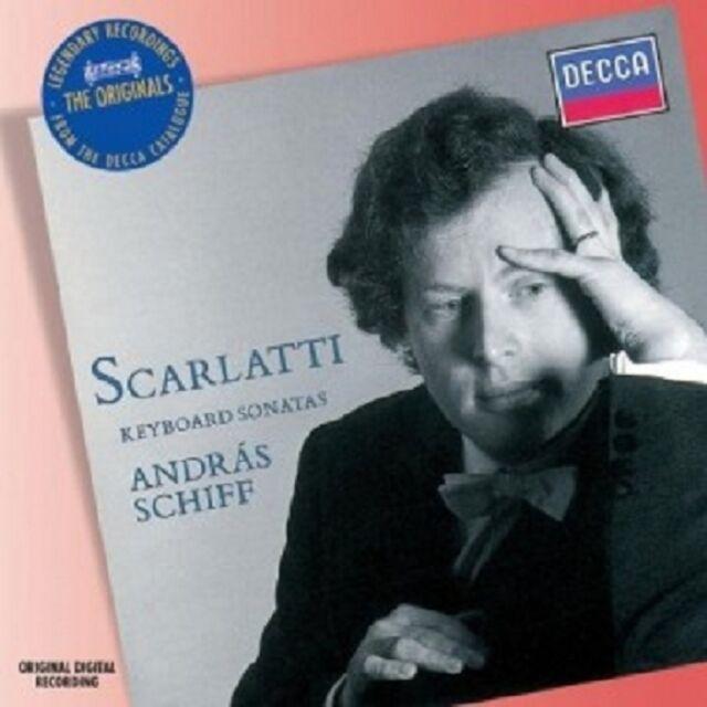 ANDRAS SCHIFF - 15 SONATEN FÜR KLAVIER  CD  15 TRACKS SCARLATTI SOLO PIANO  NEU