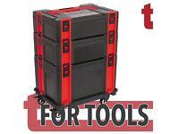 Sealey AP8Stack Stackable Click Together Toolbox Kit Makita Bosch Dewalt