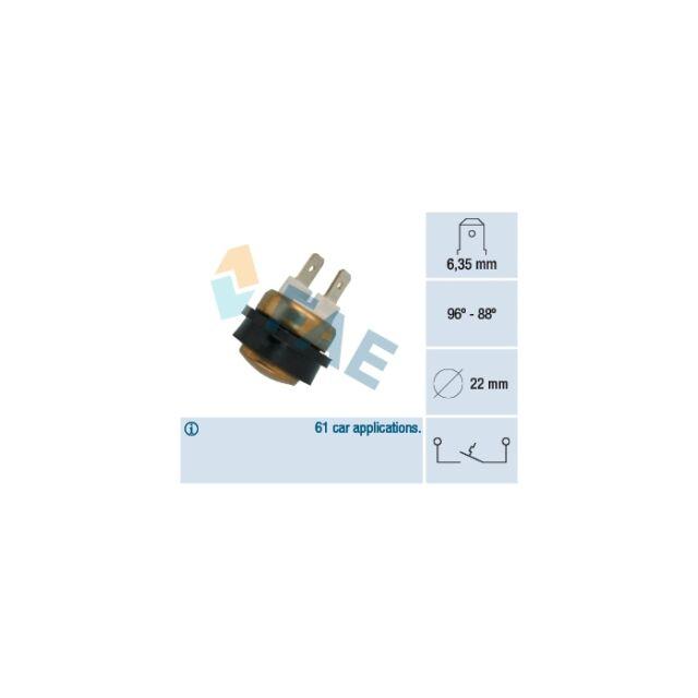 FAE Temperature Switch, radiator fan 36080