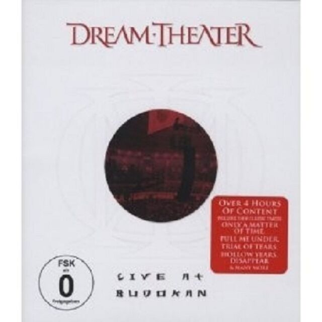 "DREAM THEATER ""LIVE AT BUDOKAN"" BLU-RAY NEU"