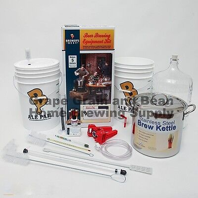 Brewers Best (BEAST) Home Brewing Equipment Kit, Beer Making Equipment