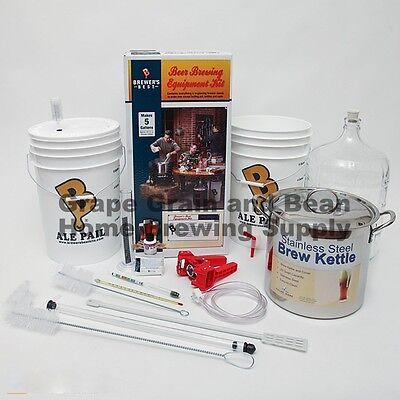 $157.95 - Brewers BEAST Home Brewing Equipment Kit, Beer Making Equipment Kit