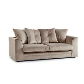 Schell 3 Seater Sofa Plus Swivel chair bought in 2019 in Taupe Colour from Wayfair