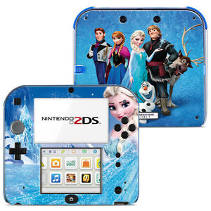 promo skin stickers autocollant pour nintendo 2ds ref 002 la reine des neiges ebay. Black Bedroom Furniture Sets. Home Design Ideas