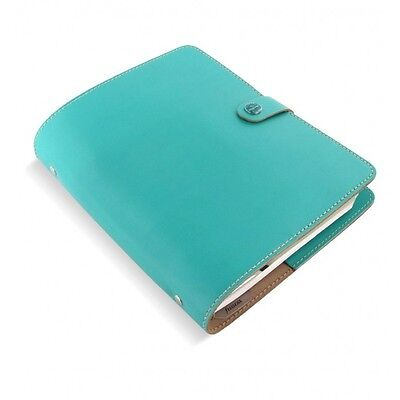 Filofax Original Organizer A5 Turquoise Leather - Made In The Uk  Ay-022600