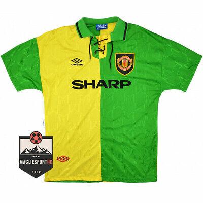 Maglia Eric Cantona Manchester United 1992-1994 - Calcio Jersey Retro Premier