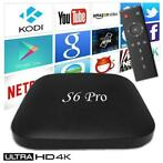 S6 Pro 4K TV Box Mediaspeler Android Kodi - 2GB RAM - 16GB O