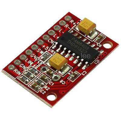 PAM8403 Mini 2x3W Digital Amplifier power Audio Board USB 5V Powered for Arduino