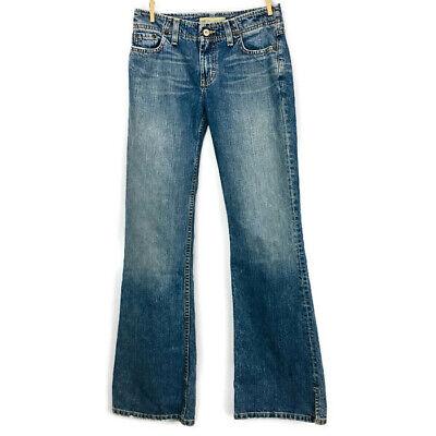 Low Rise Flare Leg Jeans (Buckle BKE Womens Jeans Sassy Low Rise Flare Leg Light Wash Denim Size 25 x 31.5)