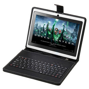 "38% Savings! 8GB iRulu 7"" Android 4.0 White Tablet PC Allwinner A13 1.2GHz Bundle Keyboard"