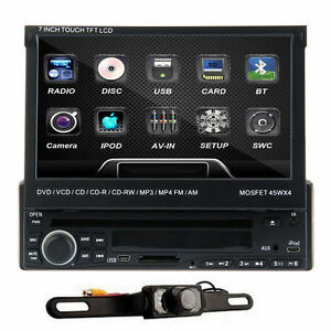 Auto radio with backup camera