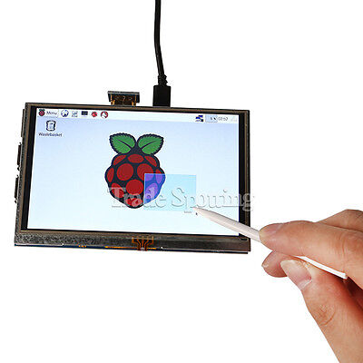 "US SainSmart 5"" Inch 800x480 HDMI Touch LCD Display for Raspberry Pi 2 Model B+"