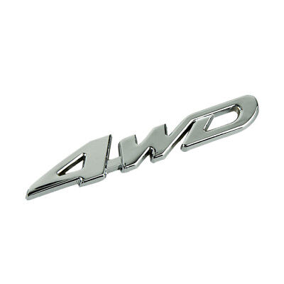 i6/2, Auto Decal Sticker Badge 3D 4wd car 4 wd