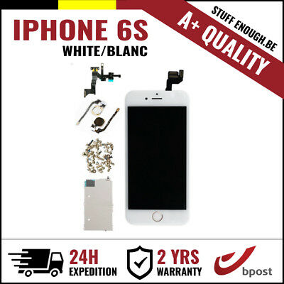 A+ LCD TOUCH SCREEN VITRE TACTIL/SCHERM/ÉCRAN ASSEMBLY WHITE BLANC FOR IPHONE 6S