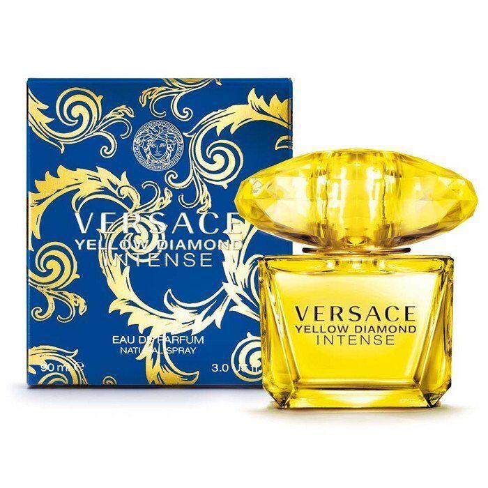 Versace Yellow Diamond Intense Eau de Parfum Spray, 3.4 oz