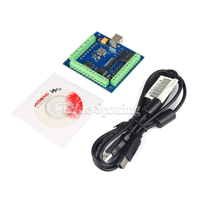 4 Axis CNC Mach3 USB Motion Controller Card Interface ...  Axis Dm A Wiring Diagram Db on