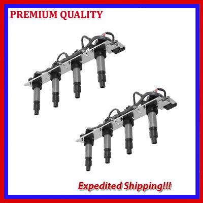 2PC  UCA372 IGNITION COIL T1162A for CADILLAC DEVILLE 4.6L V8 2004 2005