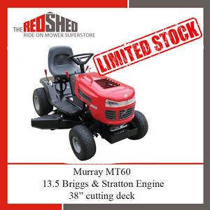 New Murray MT60 Ride On Mower Briggs 13.5HP 38