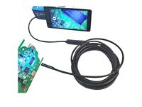Waterproof Android Video Endoscope Borescope Snake USB Inspection Camera 5M 6-LED 5.5mm Lens IP67