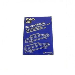 Volvo 240 242 244 245 Repair Manual Bentley V08000293