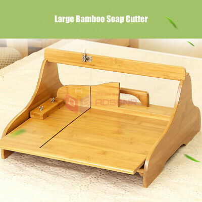 Large Bamboo Soap Cutter Adjustable Handmade Loaf Soap Making Molds Tools Kits Large Soap Kit