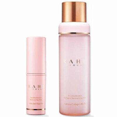 KAHI Wrinkle Bounce Multi Balm 9g + Collagen Mist Ampoule 100ml K-beauty
