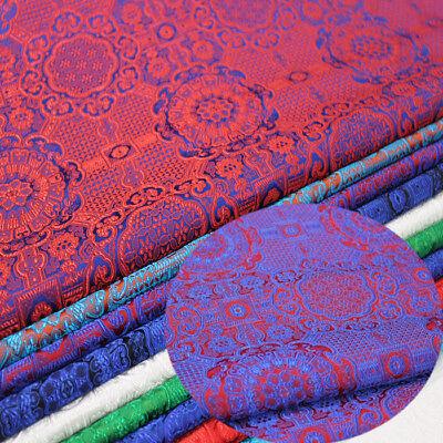 Costume Chinese (Mongolia Robe Tang Costume Chinese Jacquard Weave Silk Brocade Damask)