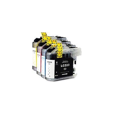 Pack 4 cartouches compatibles LC223.225.227 BK,C,M,Y