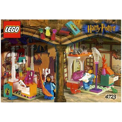 COMPLETE Harry Potter LEGO set Diagon Alley Shops 4723