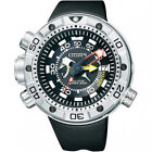 Citizen Eco-Drive Silver Band Diver Wristwatches