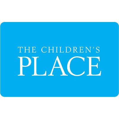 $50 The Children's Place Gift Card For Only $42.50! - FREE Mail Delivery