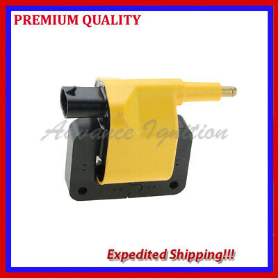 1PC IGNITION COIL UCR259Y FOR 1991 1992 1993 1994 1995 1996JEEP CHEROKEE 4.0L L6