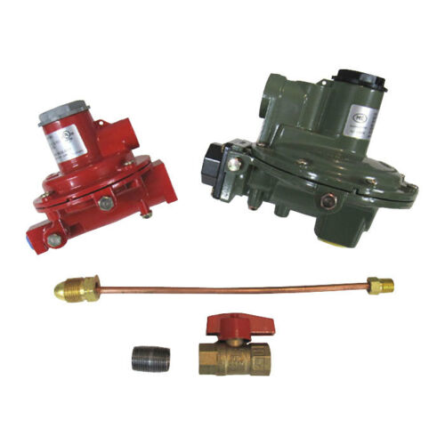 "Marshall Regulator Home Propane Supply Kit LP 1122H-AAJ 1652-CFF 3/4"" Backmount"