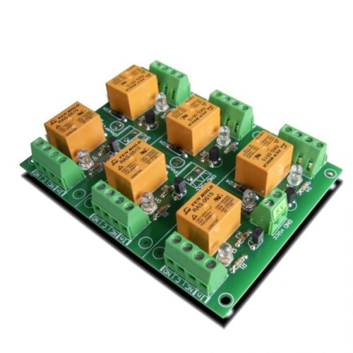 6 Relay Board for your AVR, PIC  Project - 5V