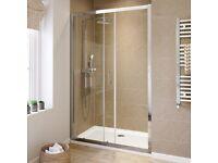 Brand new, unused - 1200mm Elements sliding shower door, Bromley SE London