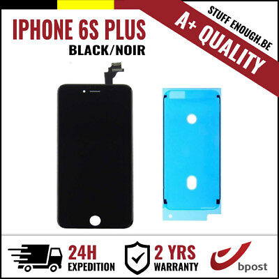 A+ LCD TOUCH SCREEN SCHERM ÉCRAN BLACK NOIR FOR IPHONE 6S PLUS + STICKER