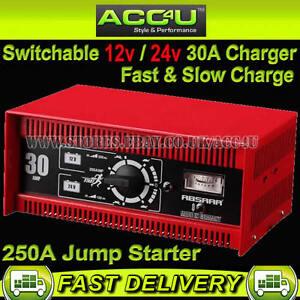Absaar-12v-24v-Car-Van-Truck-250A-Jump-Starter-30-Amp-Fast-Slow-Battery-Charger