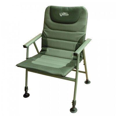 NEW Fox Warrior Carp Fishing Compact Folding Arm Chair - CBC044