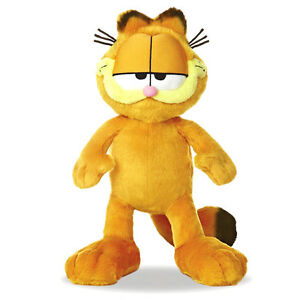 Official Garfield Cat Super Soft Plush Toy - 15