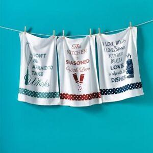 Loads of Love Dishtowels Set - $10