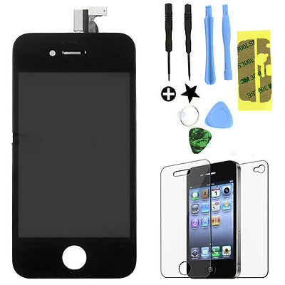 Replacement LCD Touch Screen Digitizer Glass Assembly OEM for iPhone 4S Black on Rummage