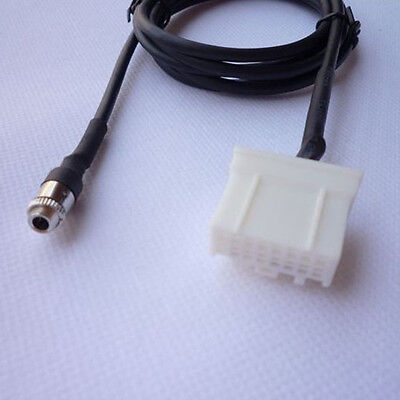 Female jack AUX Adapter Cable Input For Mazda3 Mazda6 Mazda2 Mazda5 Gayly