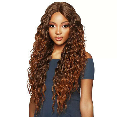 OUTRE SYNTHETIC 6 INCH DEEP PART LACE FRONT WIG - -