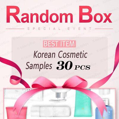 Best Korean cosmetic samples 30pcs RANDOM BOX Special Event Moisture