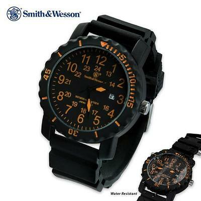Smith & Wesson Tactical Military Dive Divers 44MM Case 30m Water Resistant Watch